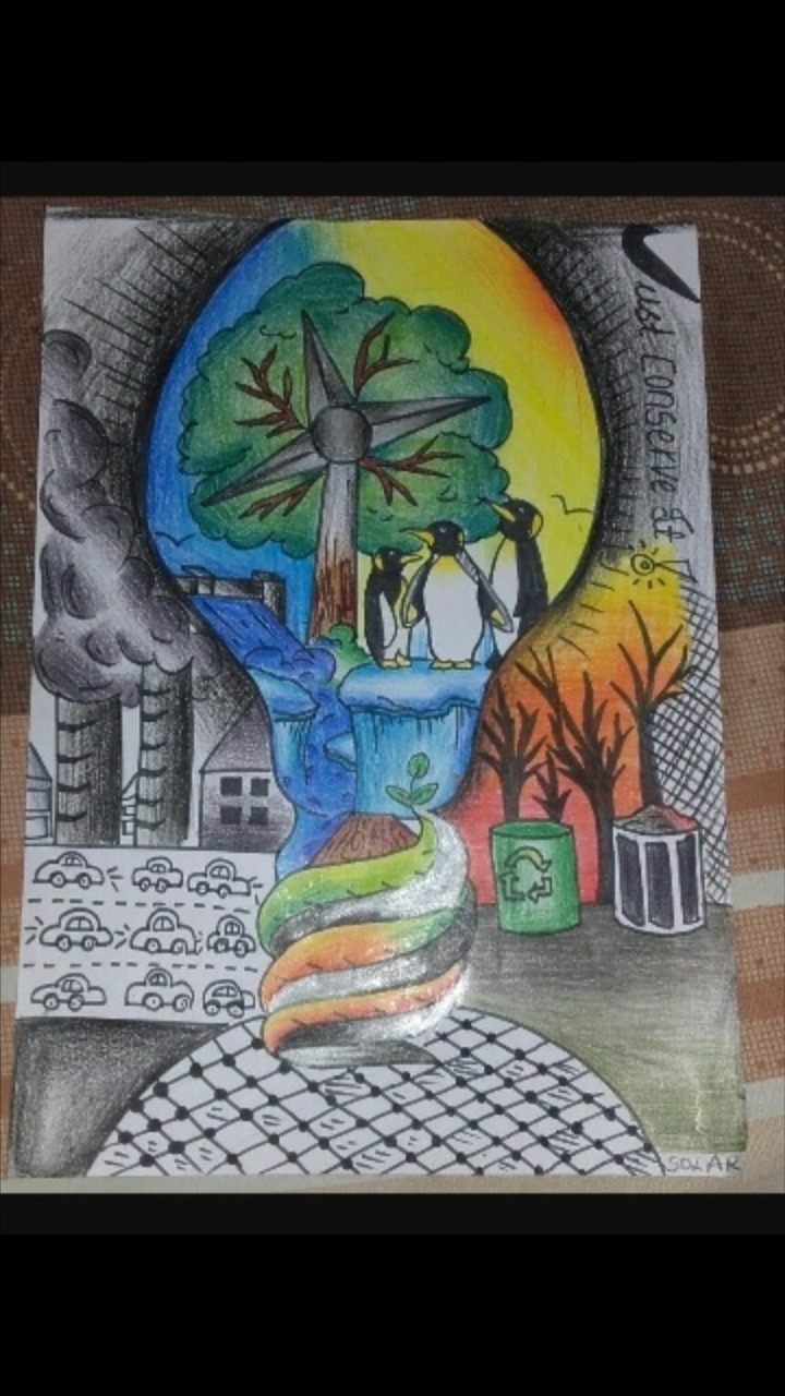 Drawing Competition Topic Conserve Energy Save Nation Brainly In