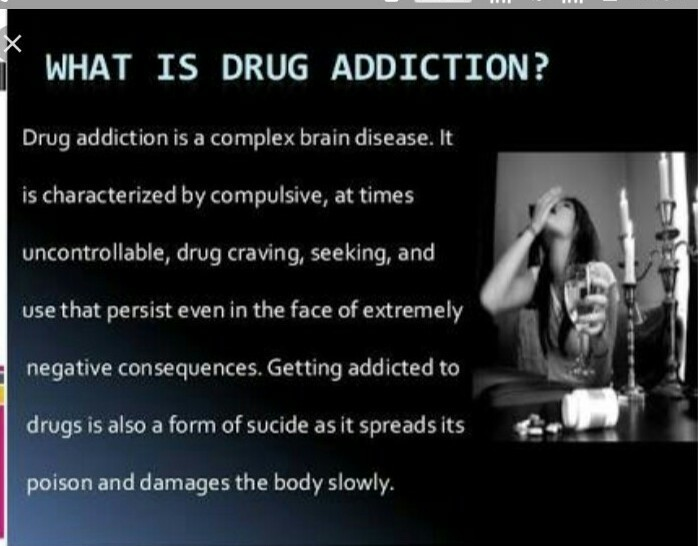what is drug addiction? - Brainly in