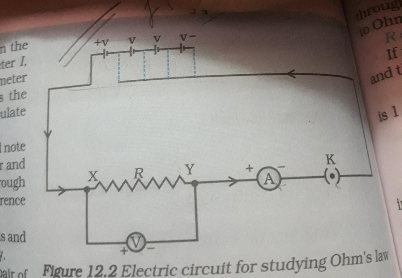 Tremendous Draw The Circuit Diagram Used To Verify Ohms Law Brainly In Wiring Digital Resources Indicompassionincorg