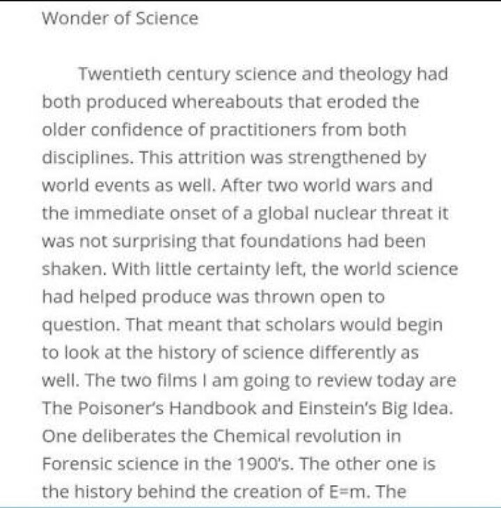 give me please a essay on wonder of science   brainlyin download jpg