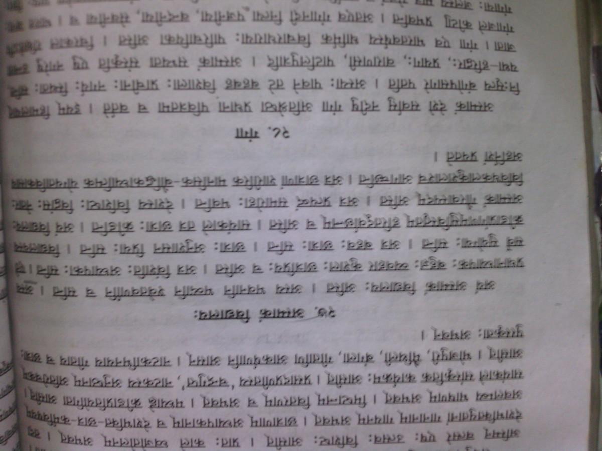 myself in sanskrit in 20 lines