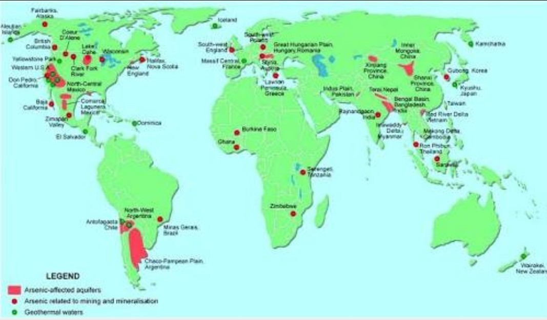On the given outline map of the world, mark the following. 1. Any ...