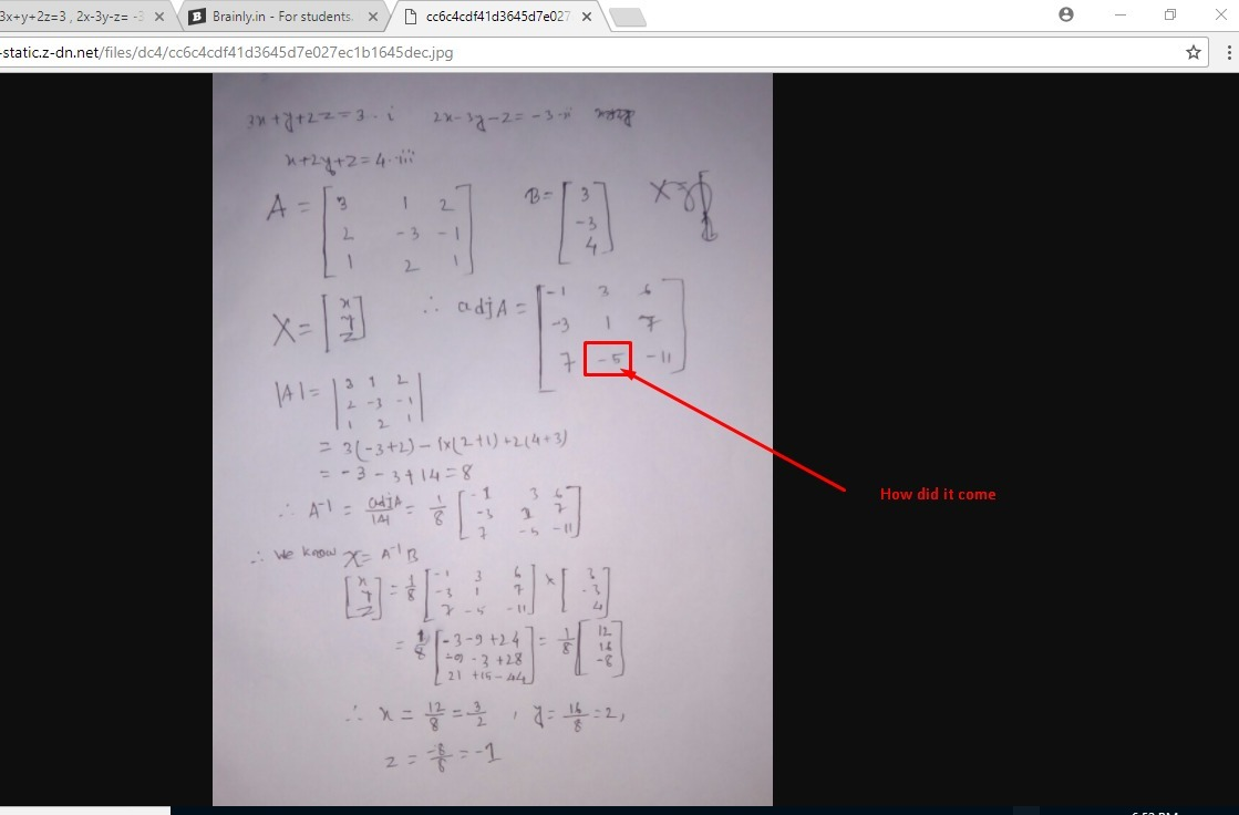 Ques 3xy2z3 2x 3y Z 3 X2yz4 Solve The Equation By