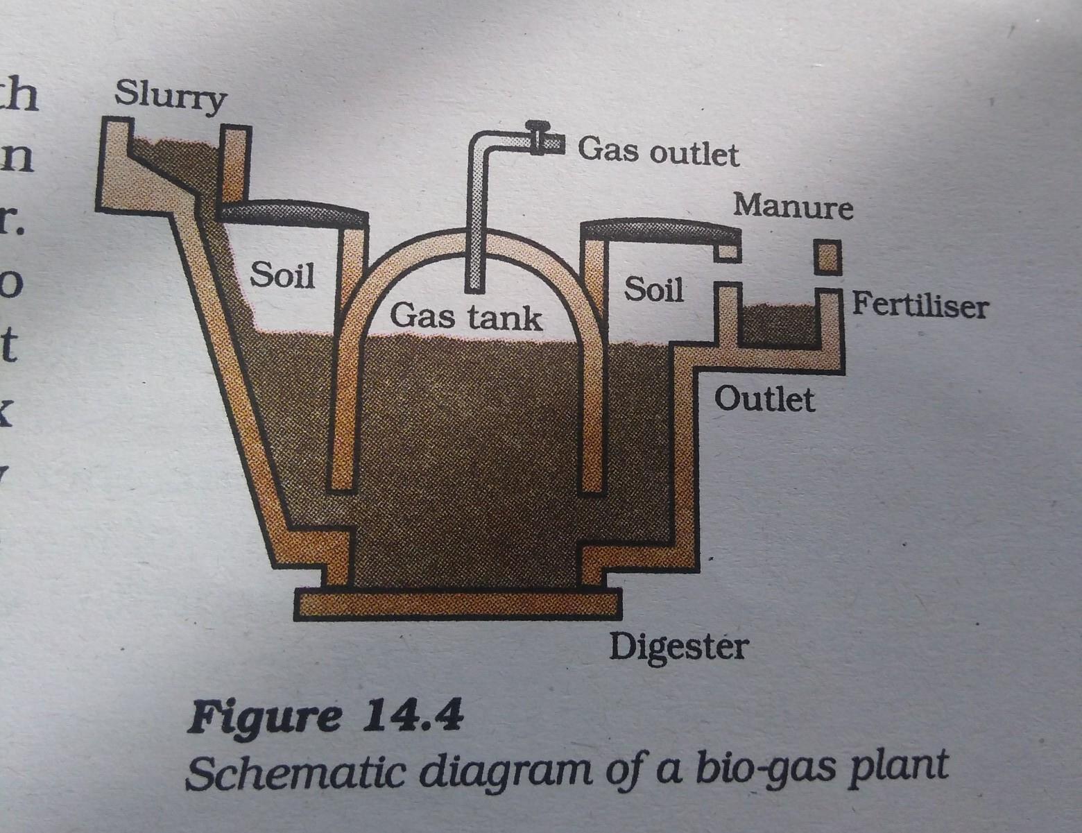 Biogas class 10