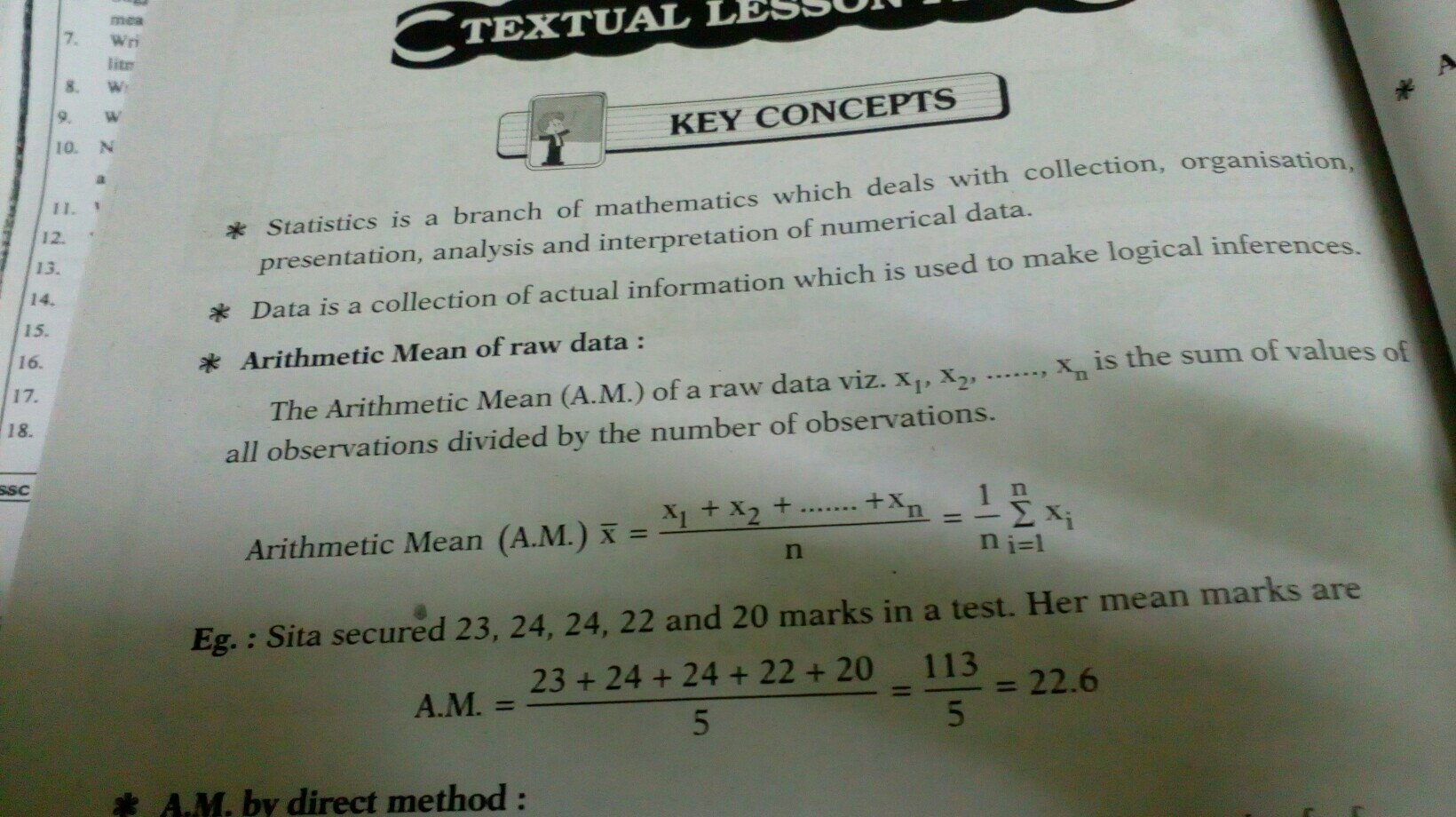 GIVE ME ALL FORMULA OF CLASS 10 MATHS CH 14 STATICS NO SPAM