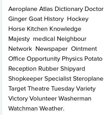 Arrange words in Alphabetical OrderSecretary, Physics