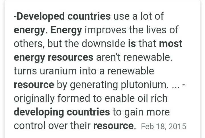importance of energy resources in development