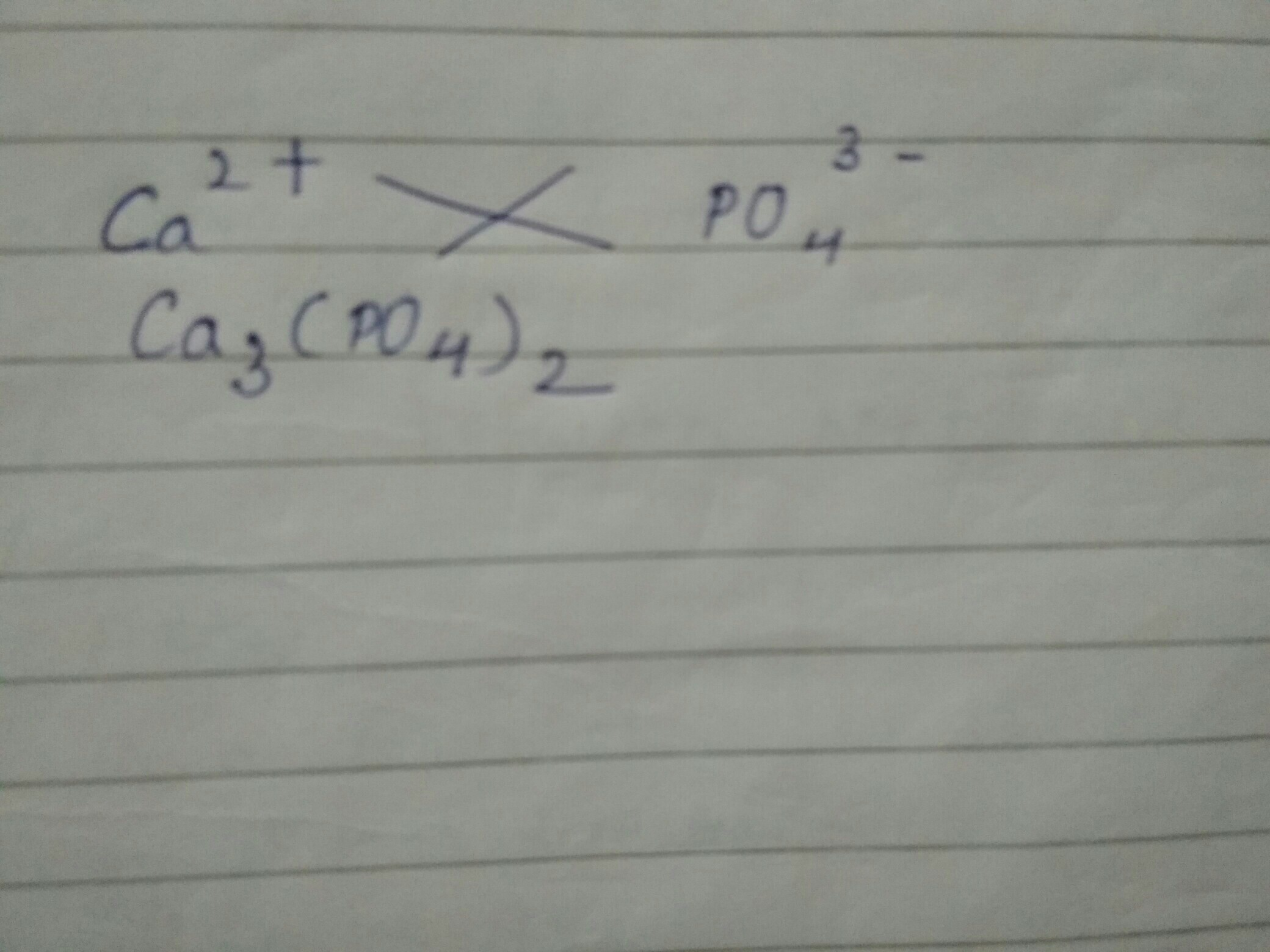 Write The Steps Involved In Writing The Chemical Formula Of Calcium
