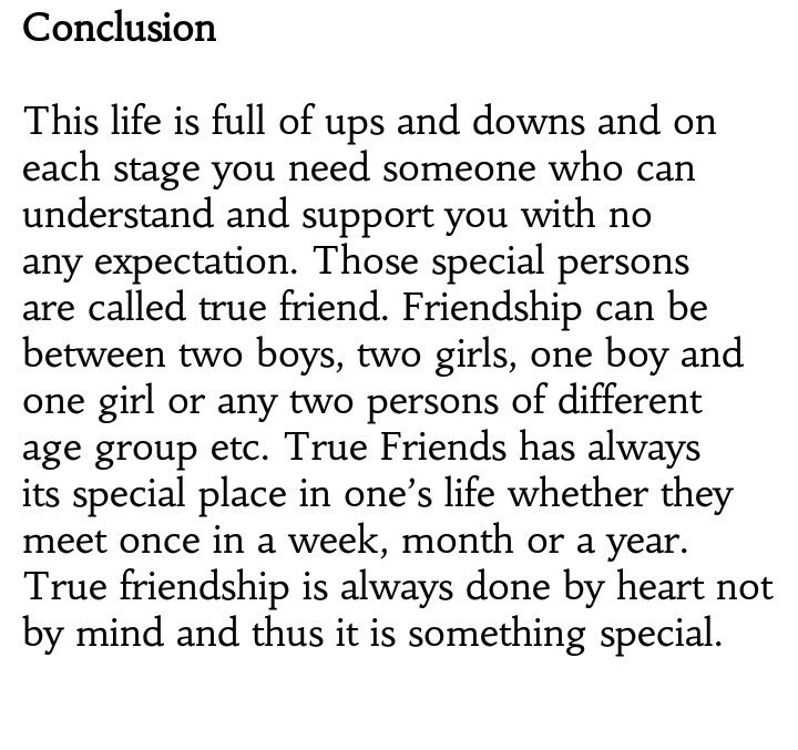 Essay On Good Friends Are Almost As Important As Family  Brainlyin