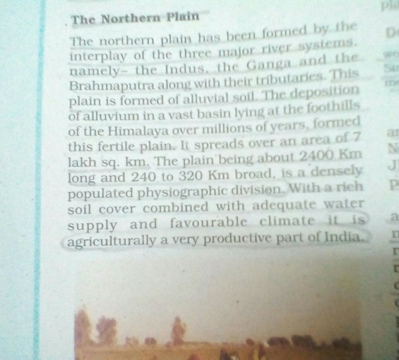 why northern plains are densely populated