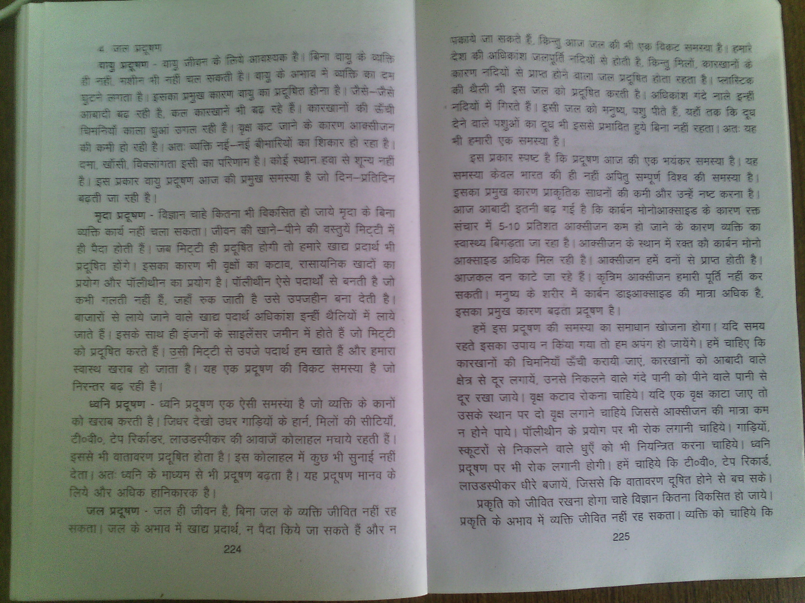 Essay on paryavaran pradushan in hindi new international division of labour thesis