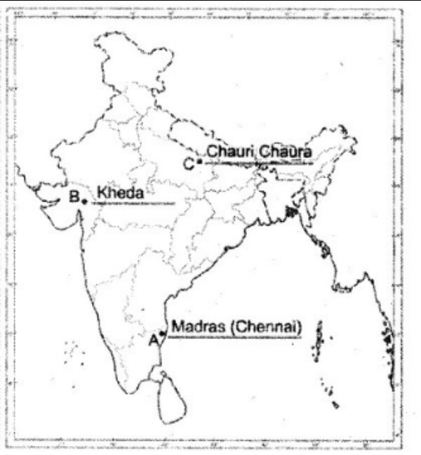 kheda on political map of india