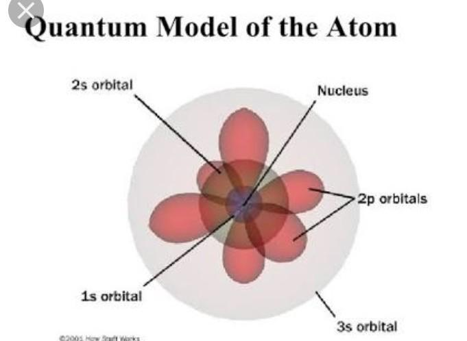 diagram of quantum model of atom - brainly.in  brainly.in