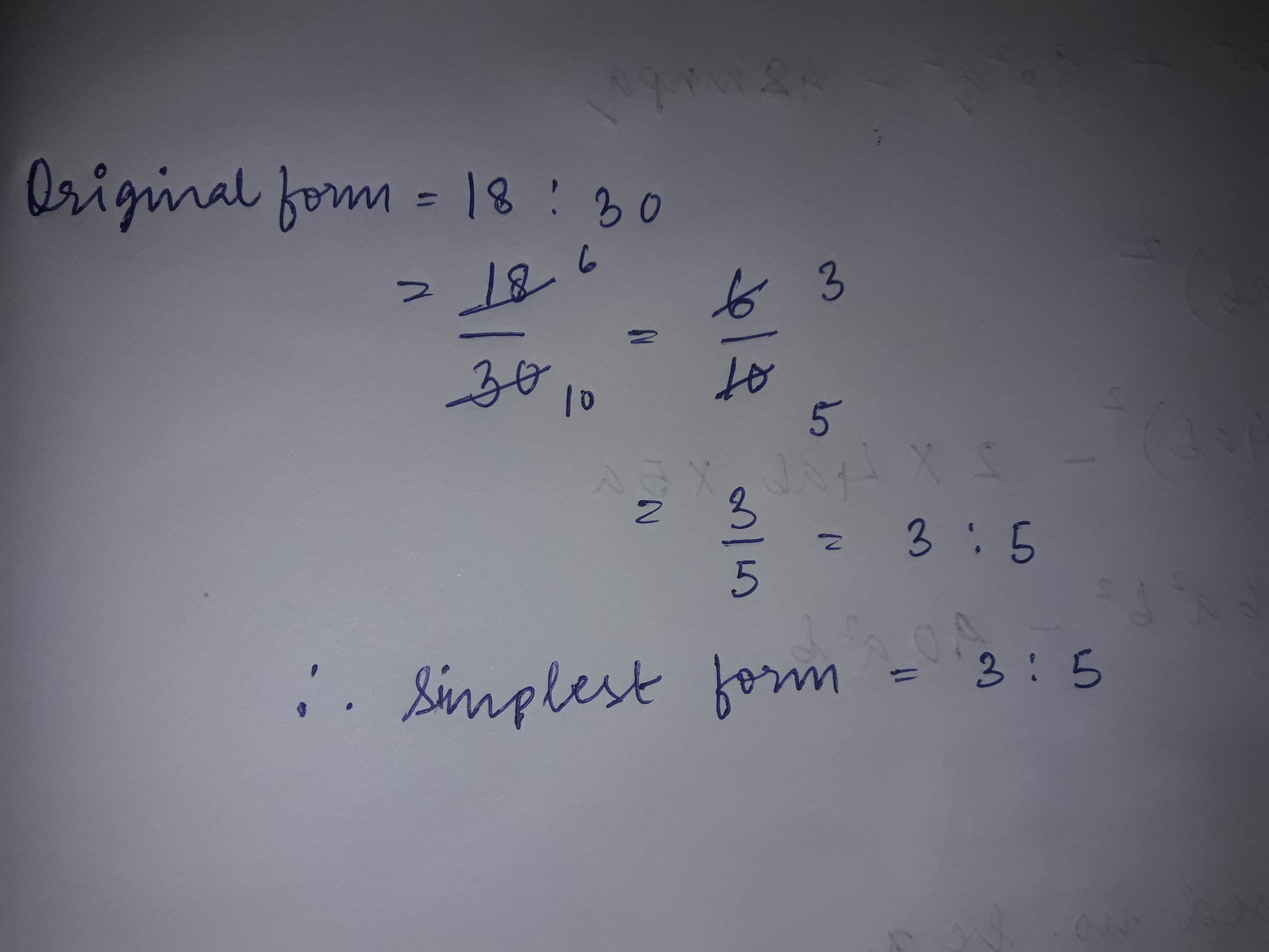 Express 18:30 in simplest form - Brainly.in