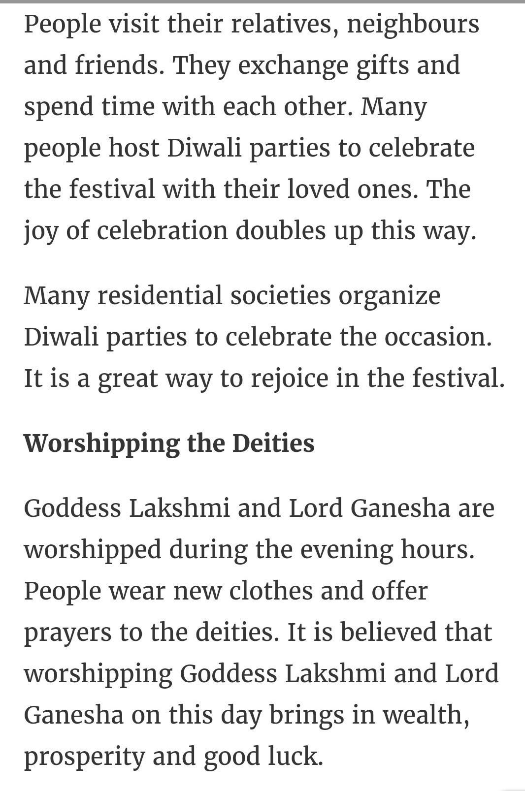 write diwali essay in english  words  brainlyin