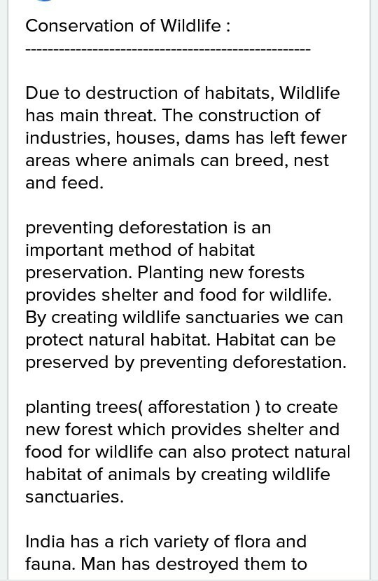 wildlife conservation efforts in india conclusion