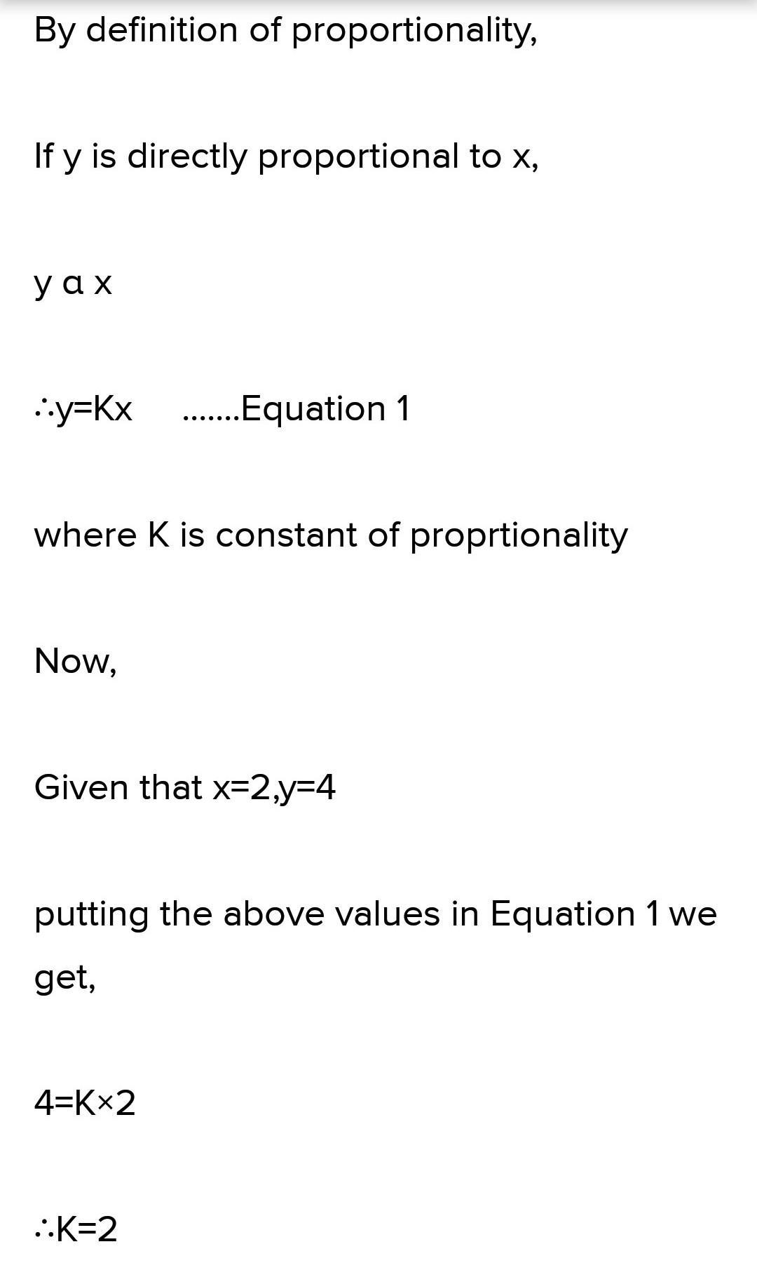 If Y Is directly Proportional To (x + y) and Y = 32.4 When