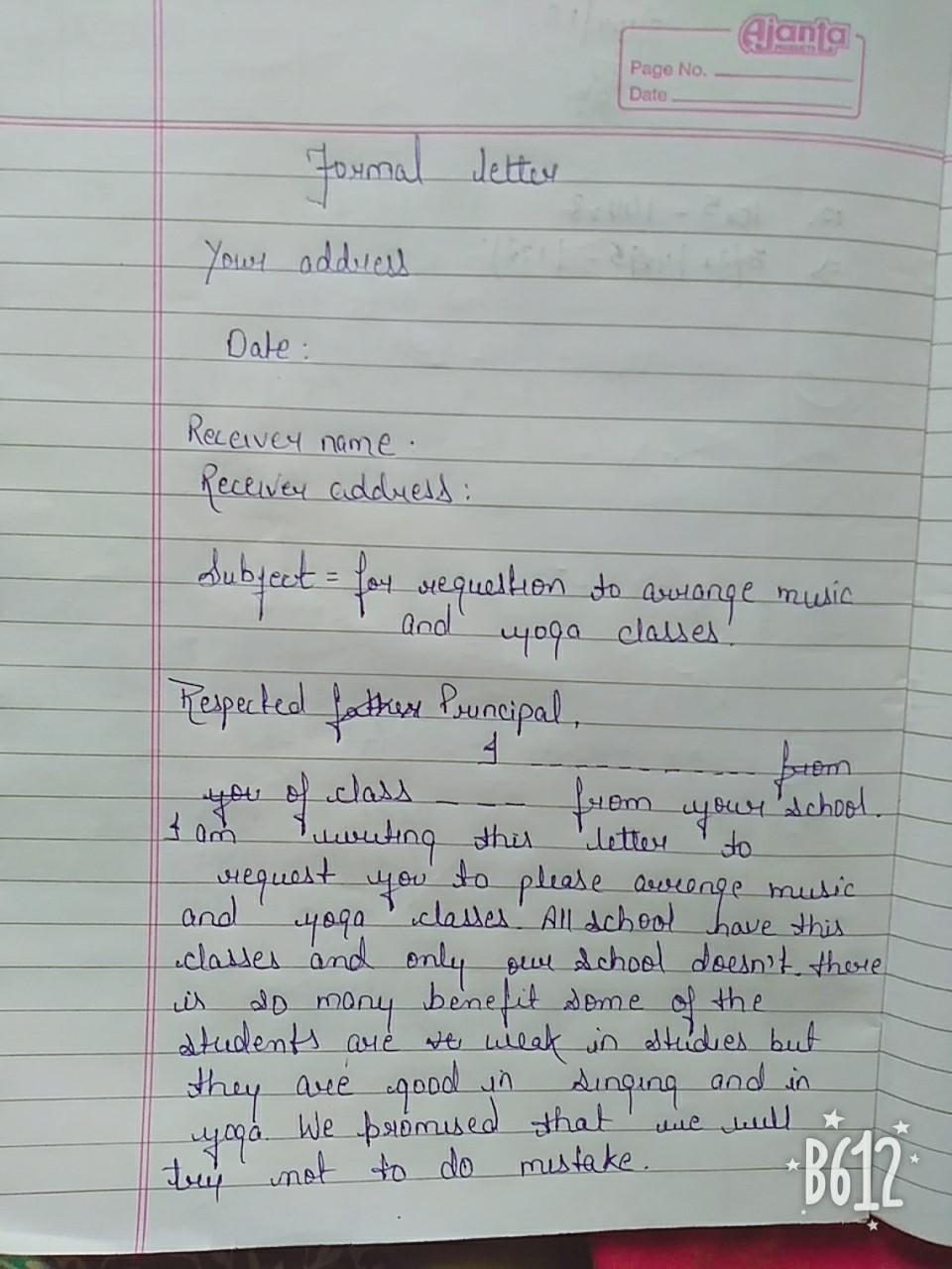 to the principal application