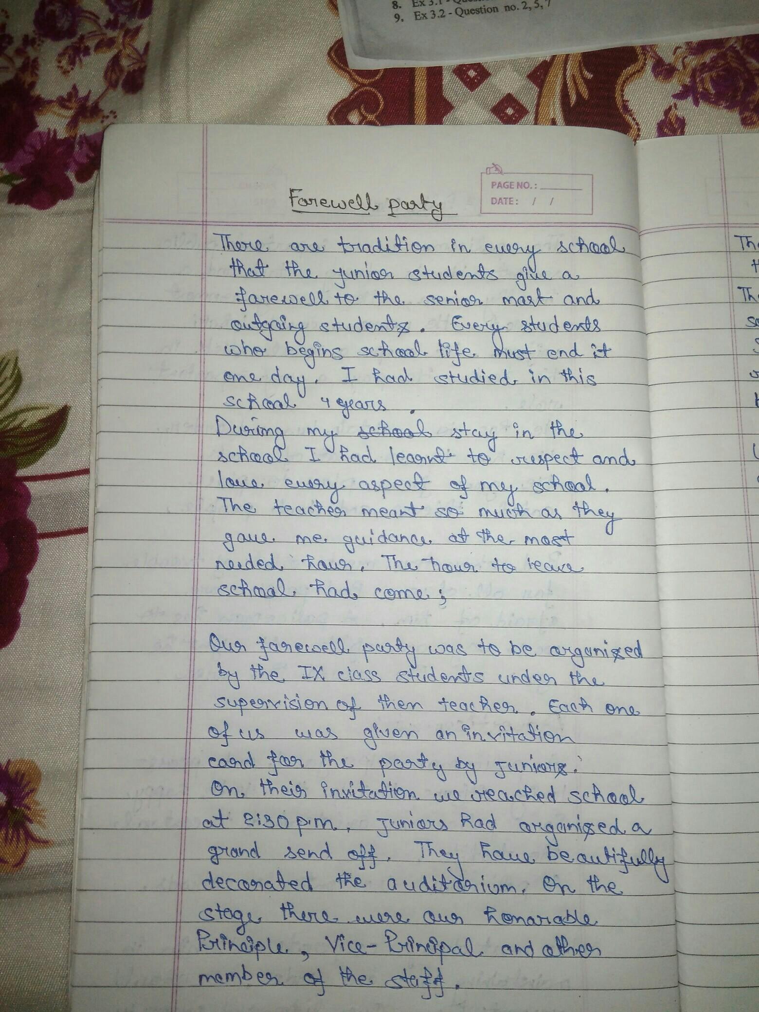 Short And Sweet Speech For Farewell Party For Teacher