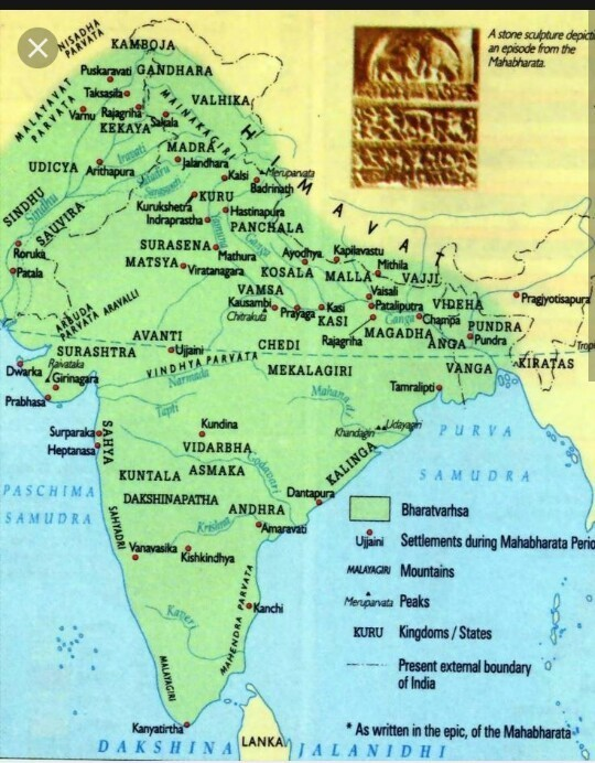 Map Of India With Name The Ancient Cities Brainly In