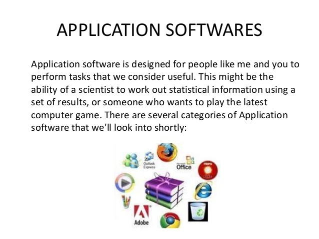 5 latest application software - Brainly in
