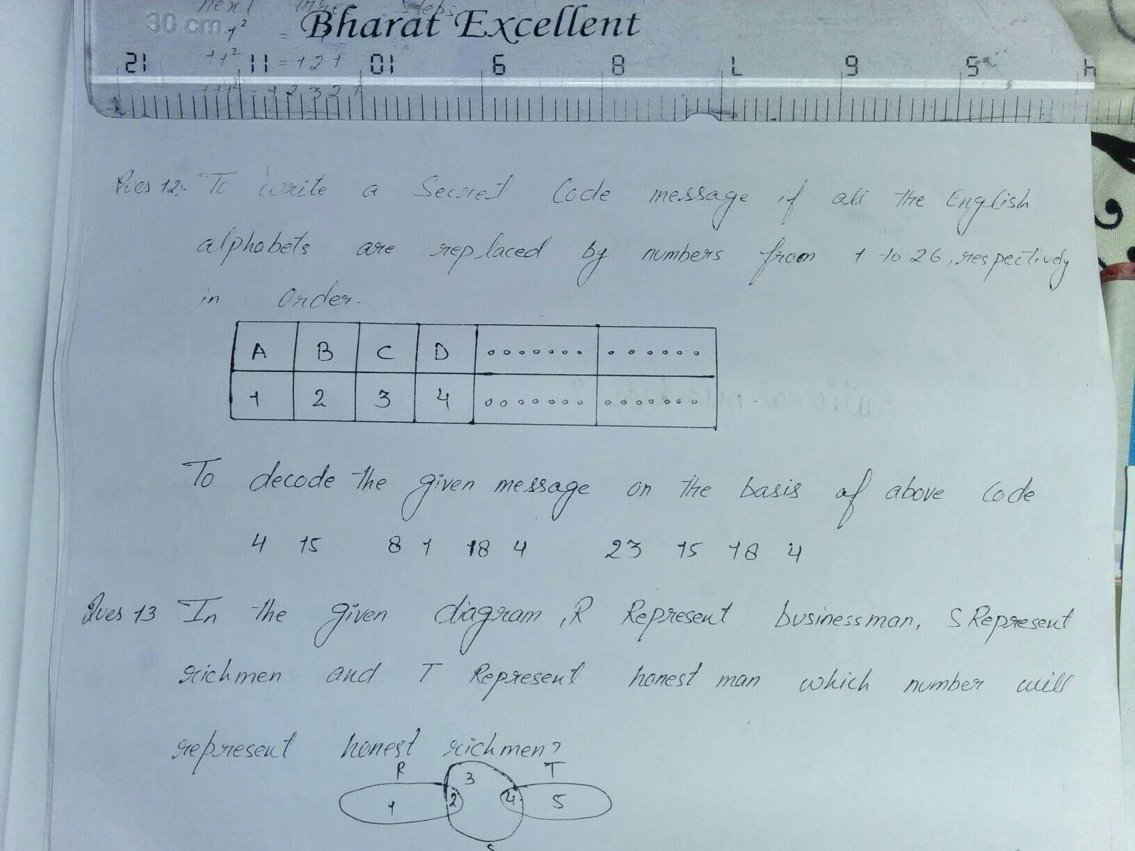 To write a secret code message if all the English alphabet
