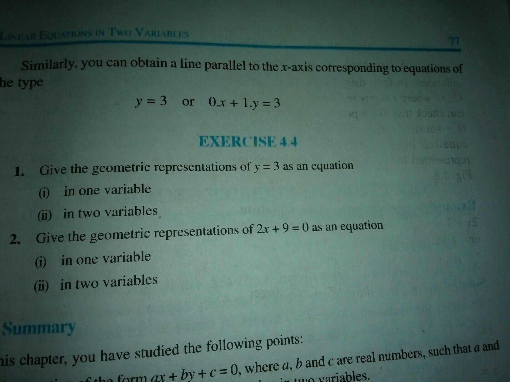 please solve this exercise I am too late for exam - Brainly.in