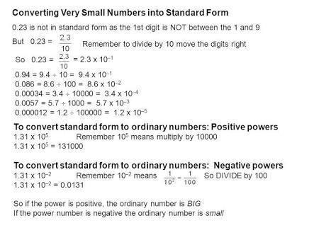 20 Examples Of Exponents Expressing In Large Numbers Into Standard