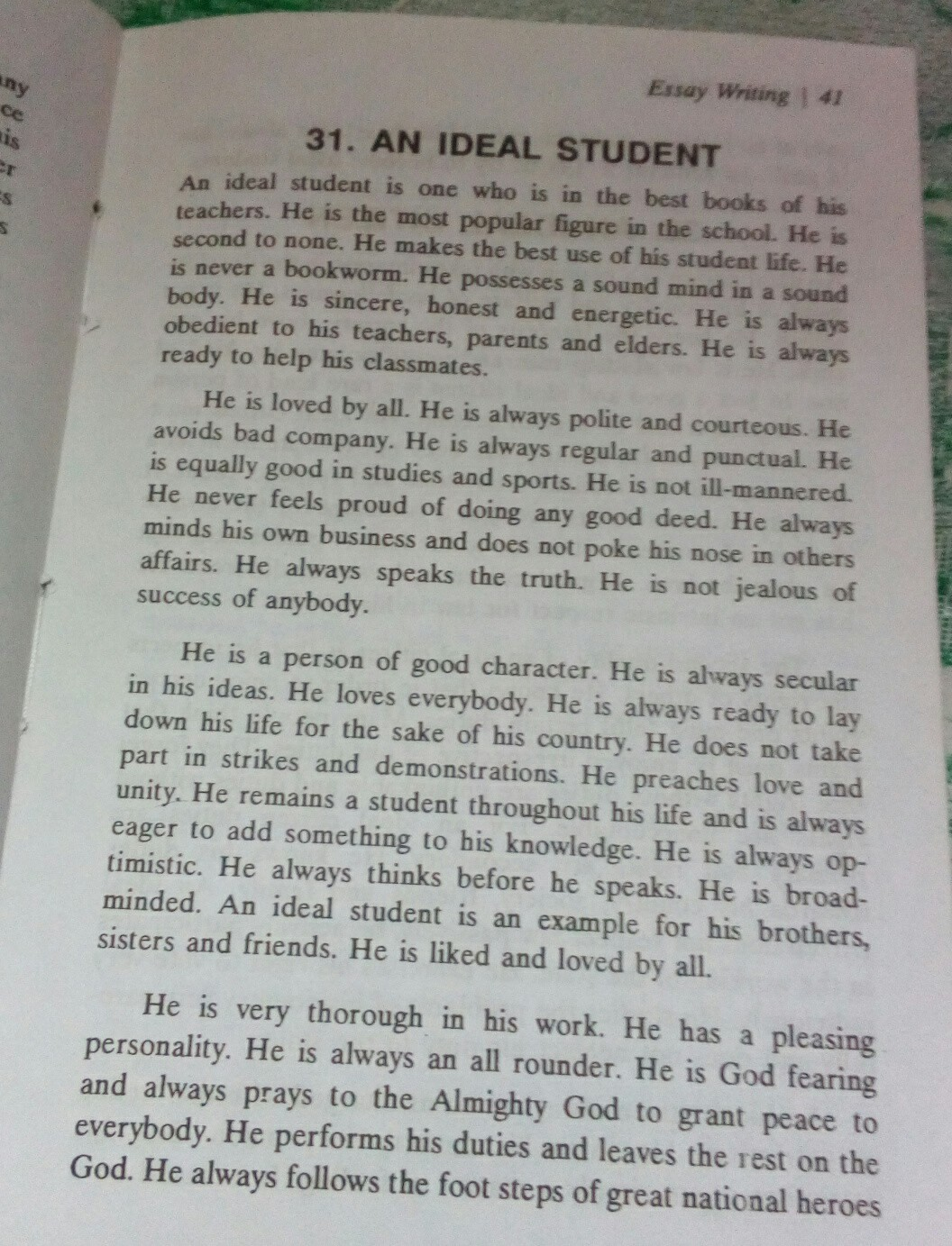Companies That Require Critical Thinking Its In My Essay Book On An Ideal Student Example Thesis Statements For Essays also Search Essays In English Essay On Student And Displine  Brainlyin High School Essay