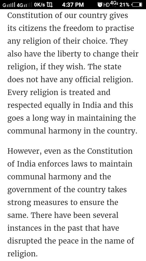 our country india essay
