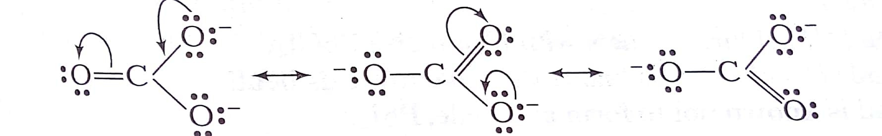 Draw The Resonating Structure Of O3 And Co3