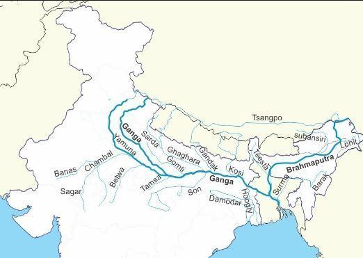 Mark Ganga river and it's tributaries on physical map of ... on tigris river map, godavari river, brahmaputra river map, river thames, godavari river map, indian ocean, indus river, deccan plateau map, taj mahal, euphrates river map, great indian desert map, arabian sea map, bay of bengal, yangtze river, great lakes map, india map, yellow river, mississippi river, brahmaputra river, persian gulf map, irrawaddy river map, china map, krishna river map, rhine river map, narmada river, niger river map, amazon river map, yangtze river map, bay of bengal map, new delhi, mekong river map,