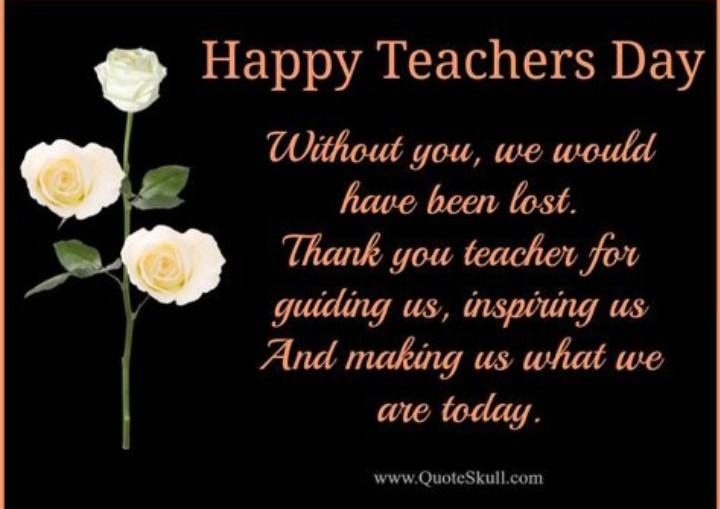 What We Can Write In Invitation Card Teachers Day Short And