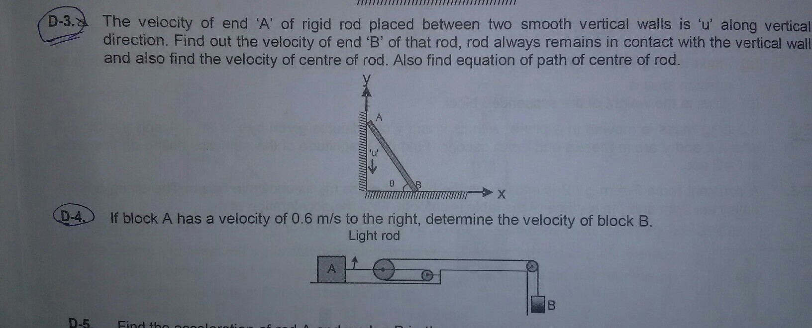 Question no  D3 and D4 with explanation plzz - Brainly in
