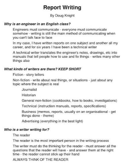 write topic 5 report writing - Brainly in