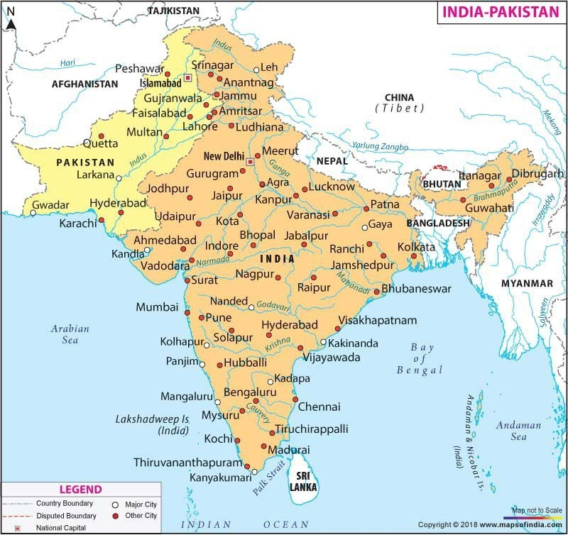 indian sub continent map Indian Subcontinent Map Brainly In indian sub continent map