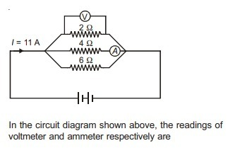 Urgent its very urgent in the circuit diagram shown above urgent its very urgent in the circuit diagram shown above the readings of voltmeter and ammeter respectively are ccuart Image collections
