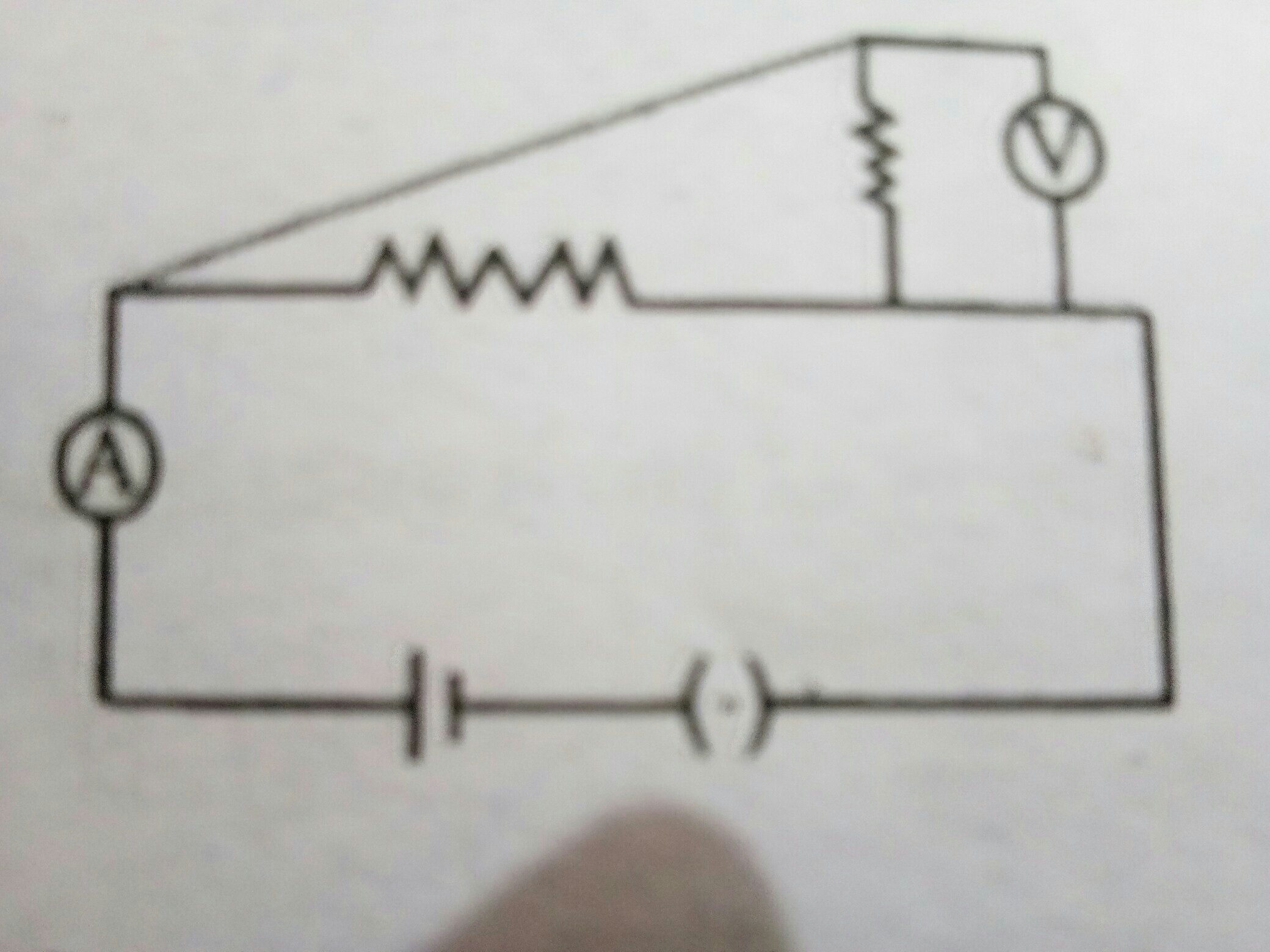 which two circuit components are connected in parallel in the ... on