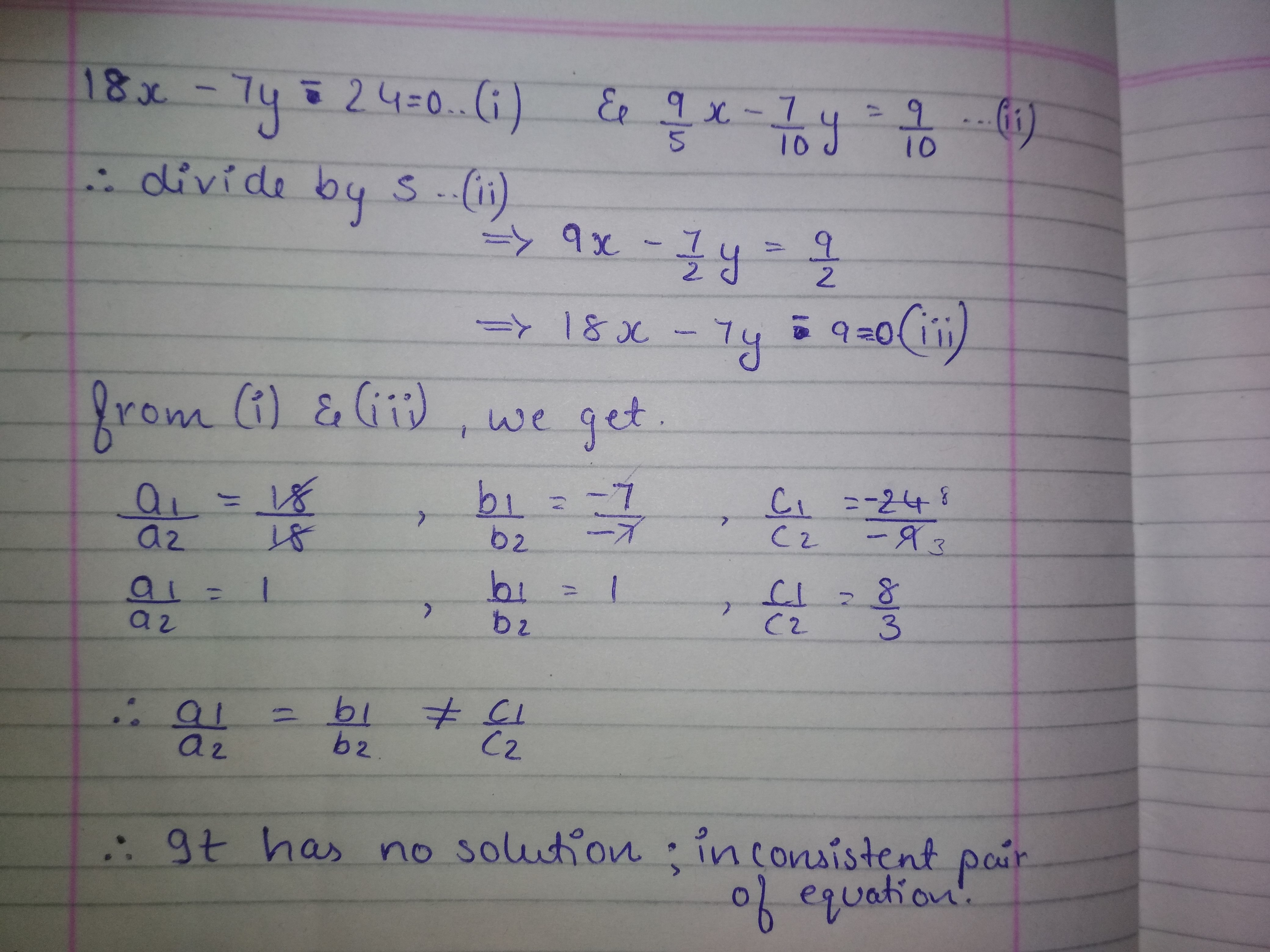 how to find the linear equation from a
