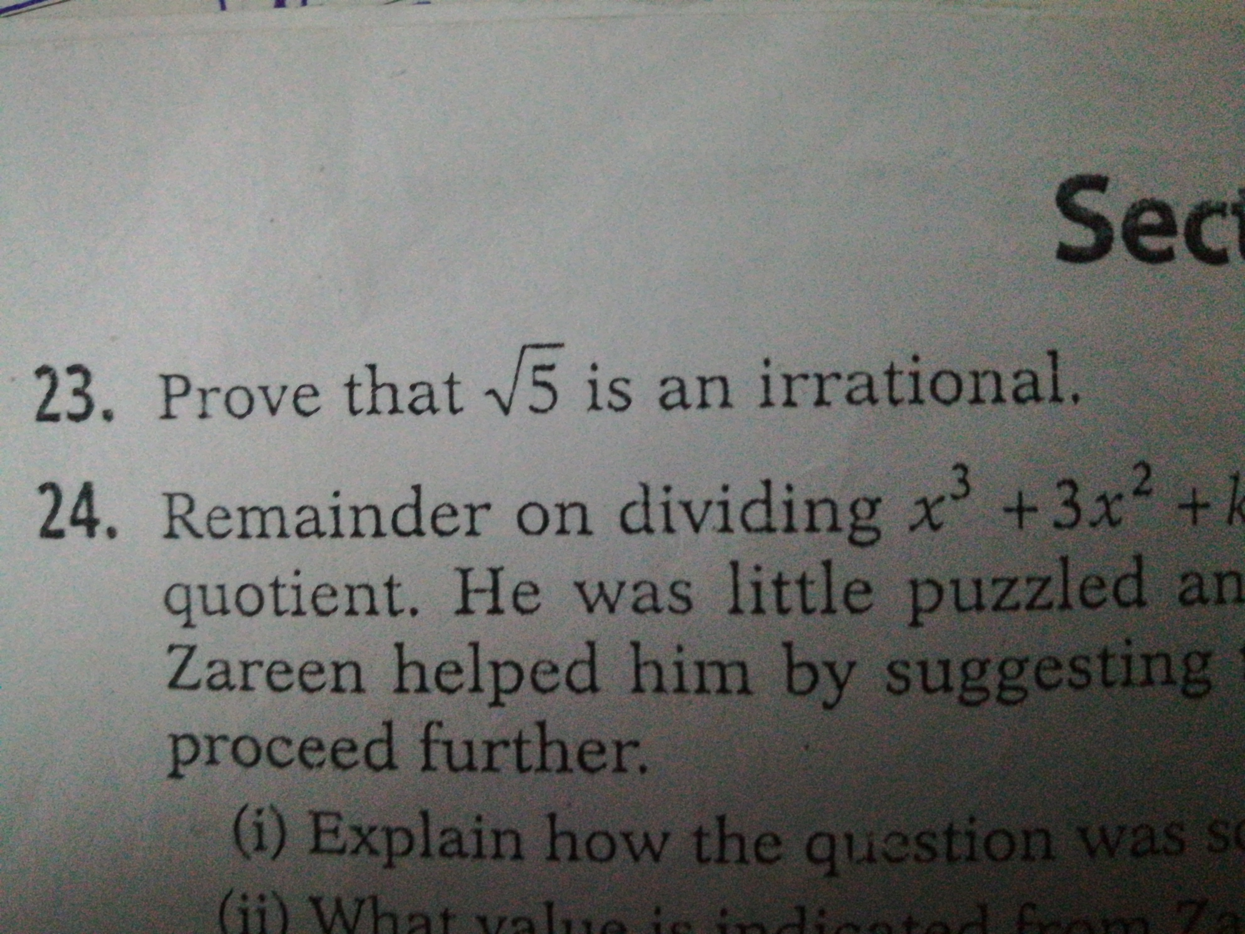 Which are the important and most repeating question in class 10 CBSE
