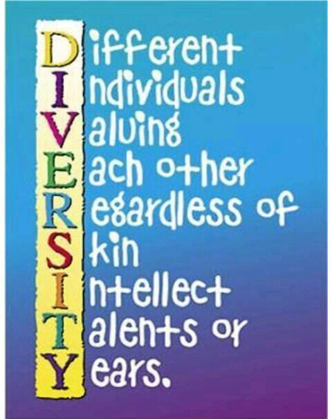 Slogan on unity in diversity makes a unique society - Brainly in