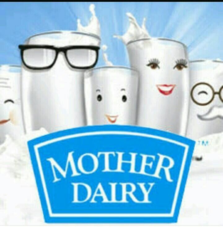 Mother dairy doodh ke liye vigyapan - Brainly in