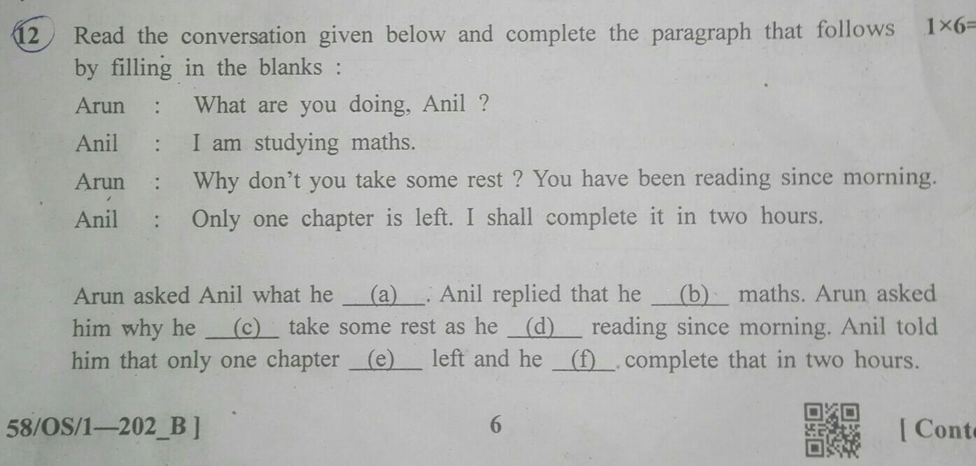 please give me answer for this English grammar question